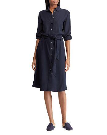 Ralph Lauren - Karalynn Belted Shirt Dress