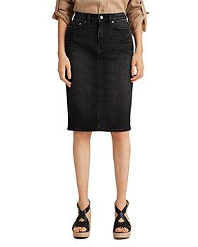 Ralph Lauren - Daniela Curvy Denim Skirt