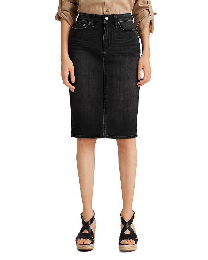 Ralph Lauren - Daniela Curvy Denim Skirt