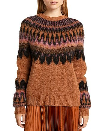 A.L.C. - Hollis Patterned Sweater