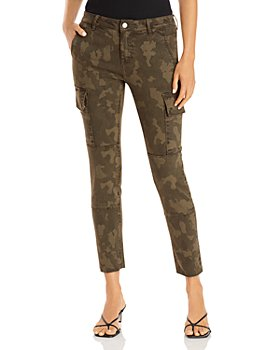 AQUA - Skinny Cargo Jeans in Camo - 100% Exclusive