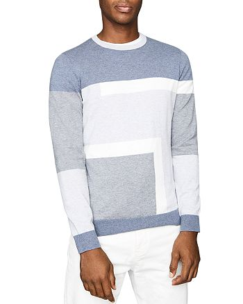 REISS - Comber Color Blocked Sweater