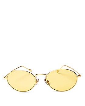 Illesteva - Unisex Georgetown Oval Sunglasses 52mm