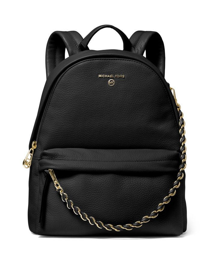 MICHAEL Michael Kors Slater Medium Leather Backpack     Bloomingdale's