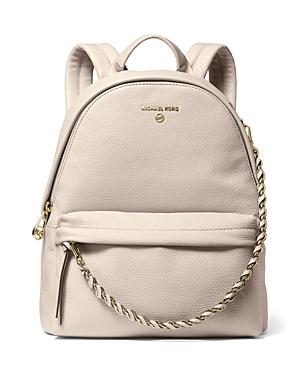 Michael Michael Kors Slater Medium Leather Backpack