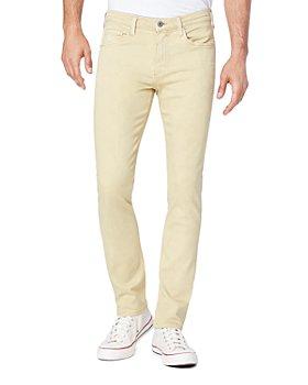 PAIGE - Lennox Slim Fit Jeans in Vintage Sunbeam