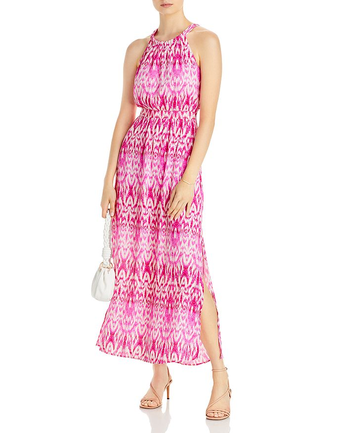 AQUA - Batik High Neck Dress - 100% Exclusive