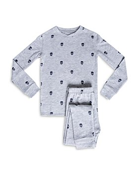 PJ Salvage - Girls' Skull Print Pajama Set - Little Kid, Big Kid
