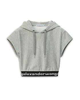 alexanderwang.t - Hoodie Crop Top