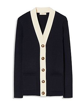 Tory Burch - Simone Ribbed Cardigan