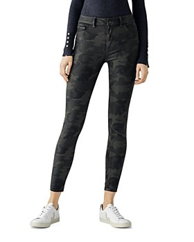 DL1961 - Florence Coated Mid Rise Ankle Skinny Jeans in Carver