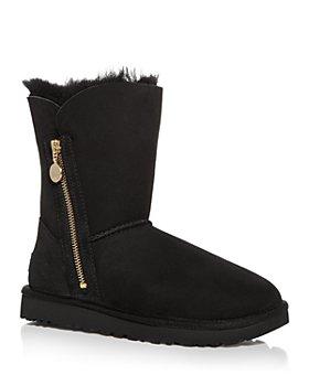 UGG® - Women's Bailey Zip Short Shearling Boots