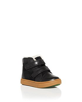 UGG® - Boys' Rennon II Leather Velcro Booties - Walker, Toddler