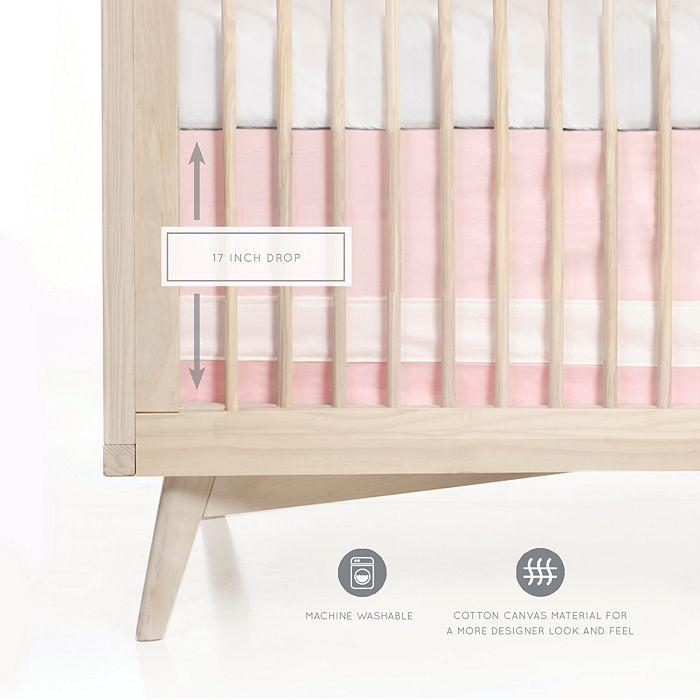 Oilo - Woven Cotton Band Crib Skirt