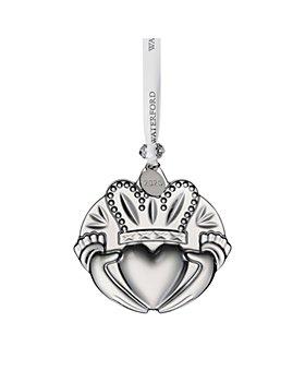 Waterford - Crystal Claddagh Ornament