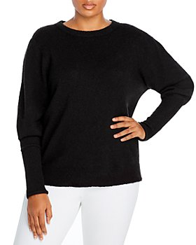 AQUA Curve - Plus Size Balloon Sleeve Sweater - 100% Exclusive