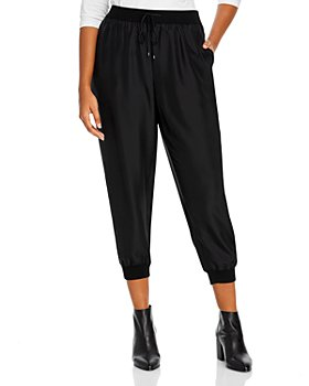 Eileen Fisher Plus - Plus Size Silk Ankle Pants