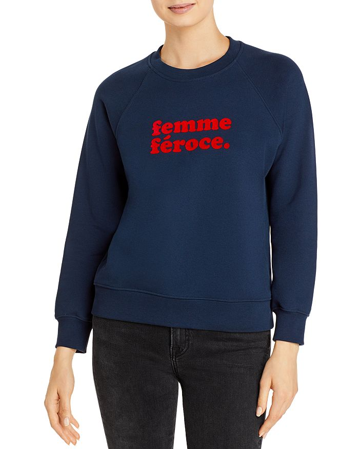 SOLD OUT NYC - The Femme Féroce Cotton Sweatshirt