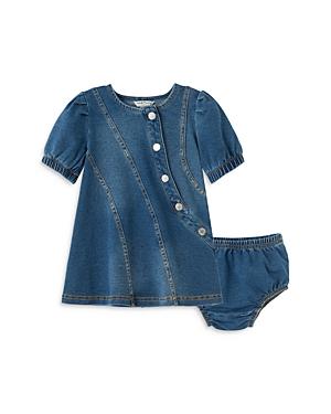 Habitual GIRLS' ALAYNA CURVED SEAM DENIM DRESS - BABY
