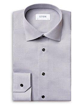 Eton - Textured Slim Fit Dress Shirt