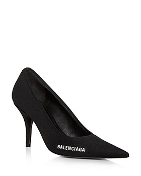 Balenciaga - Women's Knife Knit Pointed Toe Pumps