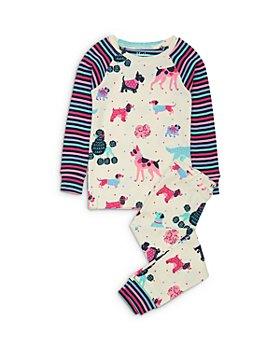 Hatley - Girls' Dog Print Cotton Pajamas - Little Kid, Big Kid