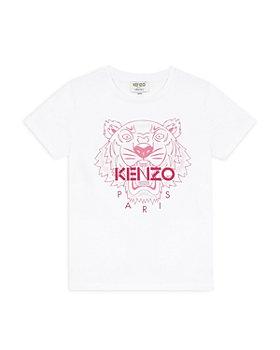 Kenzo - Girls' Tiger Logo Tee - Little Kid