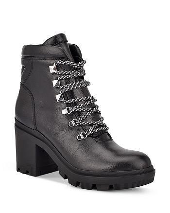Marc Fisher LTD. - Women's Kini Block Heel Booties - 100% Exclusive