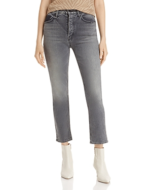 Mother The Tomcat Cropped Ankle Jeans-Women