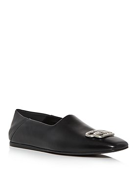 Balenciaga - Men's Cosy BB Leather Loafers