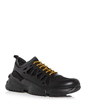 Salvatore Ferragamo - Men's Raintop Low Top Sneakers