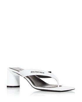 Balenciaga - Women's High Heel Thong Sandals