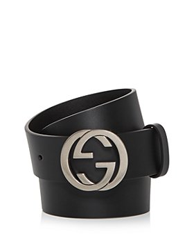 Gucci - Men's Double G Buckle Leather Belt