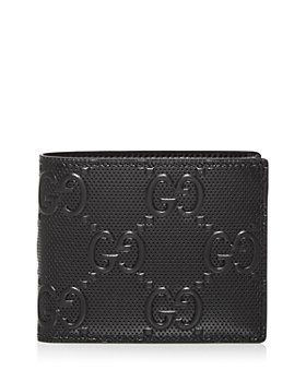 Gucci - GG Embossed Leather Bi Fold Wallet