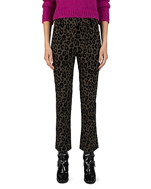 Derek Lam 10 Crosby Nellie Cropped Flared Pants