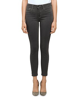 L'AGENCE - Margot High Rise Skinny Jeans in Magnet