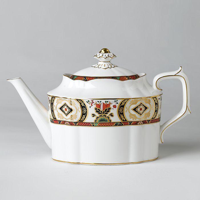"Royal Crown Derby - ""Chelsea Garden"" Teapot"