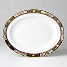 "Royal Crown Derby ""Chelsea Garden"" Platter, Medium"