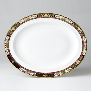 "Royal Crown Derby - ""Chelsea Garden"" Platter, Medium"