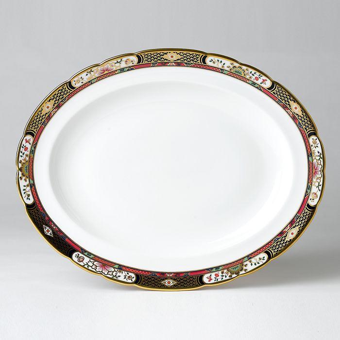 "Royal Crown Derby - ""Chelsea Garden"" Platter, Medium"