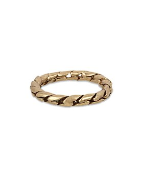 ALLSAINTS - Chain Band Ring