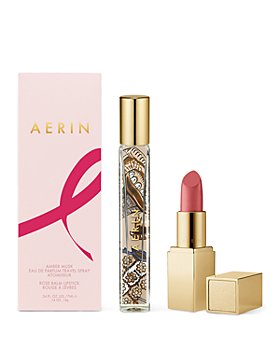 Estée Lauder - AERIN BCRF Pretty Rose Balm Lipstick & Amber Musk Travel Spray Set