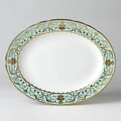 "Royal Crown Derby - ""Darley Abbey"" Oval Platter, 13"""