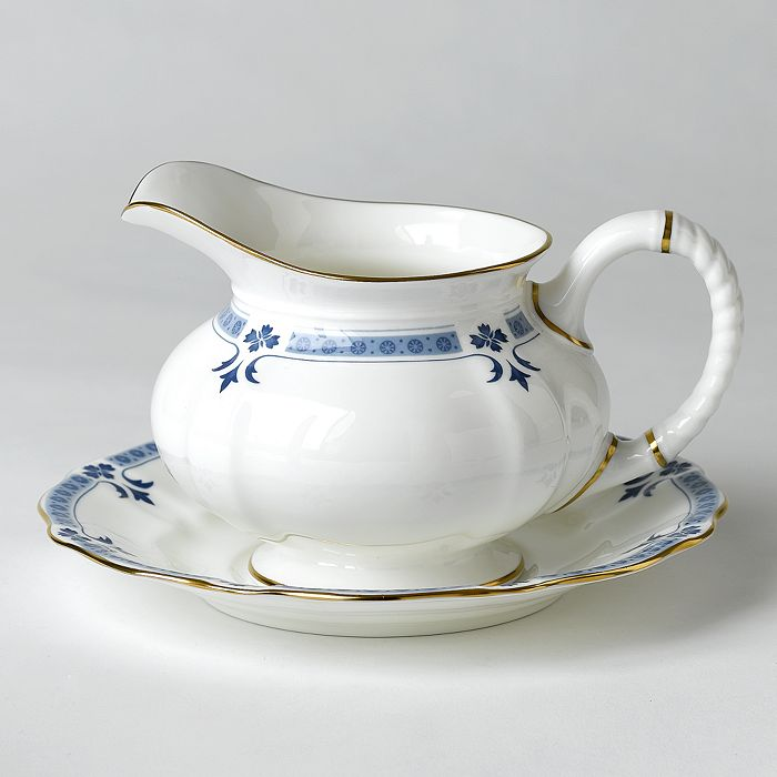"""Royal Crown Derby - """"Grenville"""" Sauce Boat Stand"""