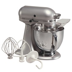KitchenAid Artisan 5-Quart Tilt Head Stand Mixer with Stainless Steel Bowl #KSM150PS - Bloomingdale's_0