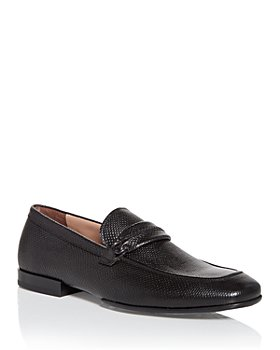 Salvatore Ferragamo - Men's Raion Lizard Embossed Slip On Loafers - Regular