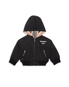Burberry - Boys' Tommy Icon Stripe Reversible Hooded Jacket - Baby