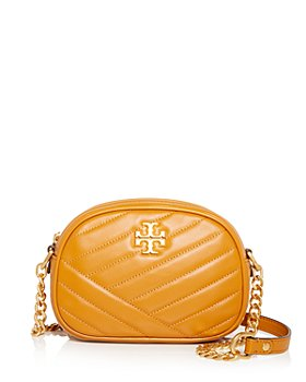 Tory Burch - Kira Chevron Leather Small Camera Crossbody
