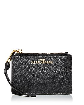 MARC JACOBS - Leather Zip Top Wallet
