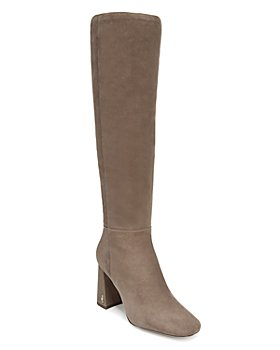 Sam Edelman - Women's Clarem Square Toe High Heel Tall Boots